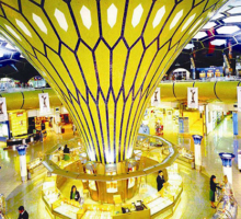 How important is to establish a presence in Dubai travel retail market for brands?