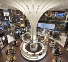 Travel retail shops
